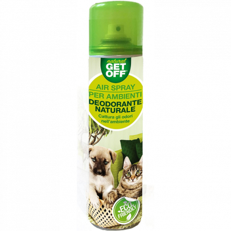 Get Off Air Spray Deodorante Naturale per Ambienti Spray ml 400