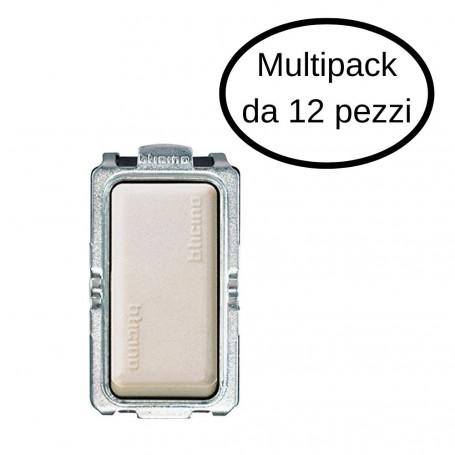 Interruttore Unipolare Bticino 1P 16A Serie Magic In Confezione Da 12 Interruttori