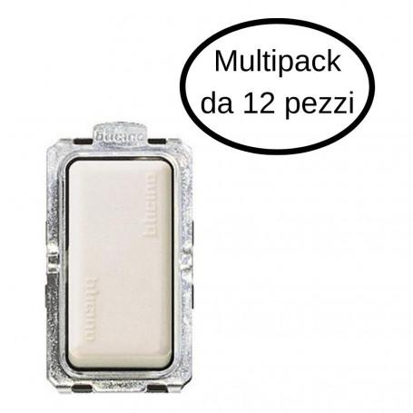 Deviatore Unipolare Bticino 1P 16A Serie Magic In Confezione Da 12 Deviatori