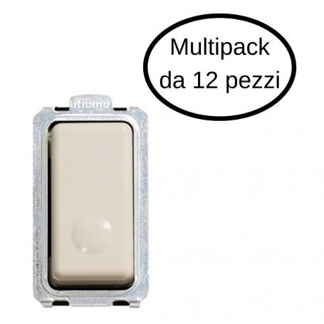 Pulsante Bticino 1P NO 10A Illuminabile Serie Magic In Confezione Da 12 Pulsanti