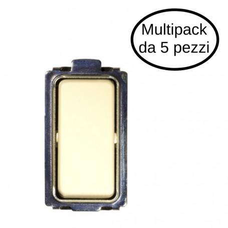 Interruttore Unipolare Tipo Magic 10/16A 1P In Confezione Da 5 Interruttori