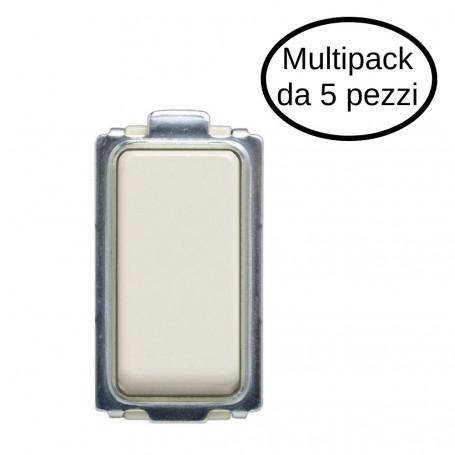 Deviatore Unipolare 1P 16A Tipo Magic In Confezione Da 5 Deviatori