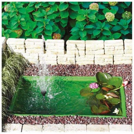 Laghetto da Giardino Misurina Termoformato Verde Litri 280 Dimensioni 115x75x45