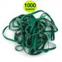 Elastici in Gomma Verde Ortofrutta Cancelleria Fettuccia Larghi diametro mm 150 x 3 x 1,5