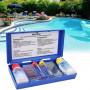 Test pH per piscine kit Analisi Acqua con 3 reagenti
