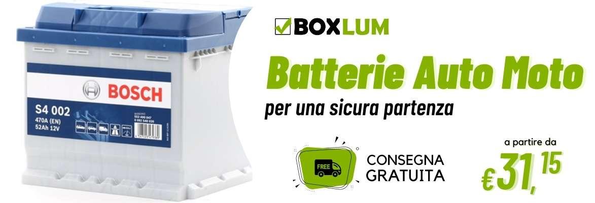Batteria per Moto Auto Furgone Camion