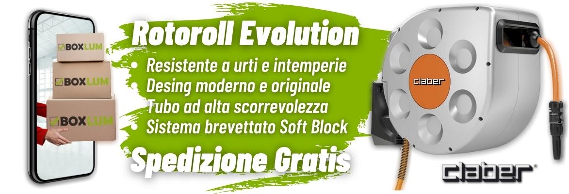 Rotoroll Evolution Claber
